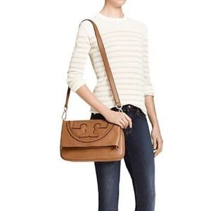 Tory Burch All T Suki Foldover Crossbody/ Clutch